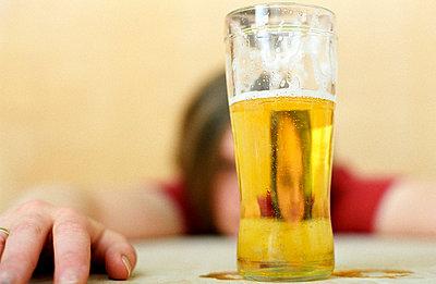 Über den Durst trinken - p0041162 von Torff
