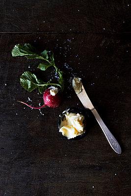 Fresh radishes - p9380031 by Christina Holmes