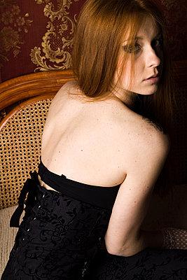 Red-haired II - p1063m822912 by Ekaterina Vasilyeva
