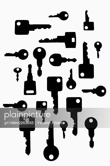Keys - p1149m2263655 by Yvonne Röder