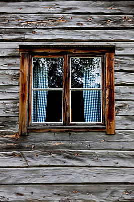 Window of a timber house - p248m816778 by BY