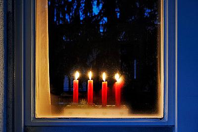 Weihnachtsbeleuchtung - p7150175 von Marina Biederbick