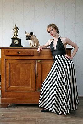 Dressed up - p964m1042712 by Sandrine Elberg