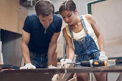 In workshop - p1630m2203539 by Sergey Mironov