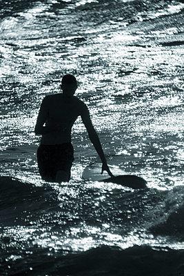 Surfer - p1028m1057103 by Jean Marmeisse