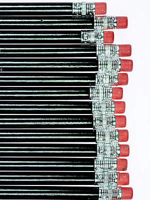 Pencils - p401m2179195 by Frank Baquet