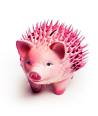 Piggy bank - p394m883364 by Stephen Webster