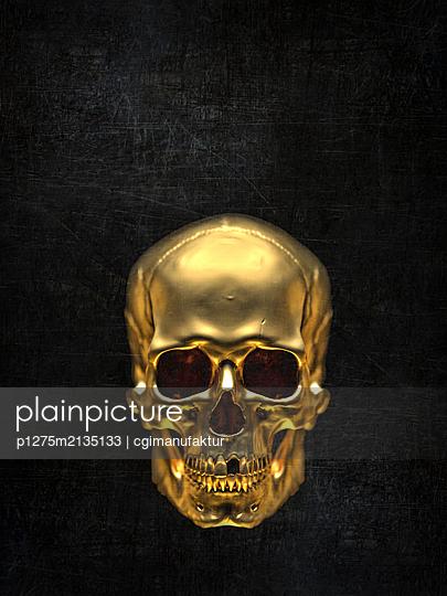 Skull - p1275m2135133 by cgimanufaktur