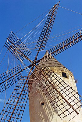 Historic wind mill - p8850176 by Oliver Brenneisen