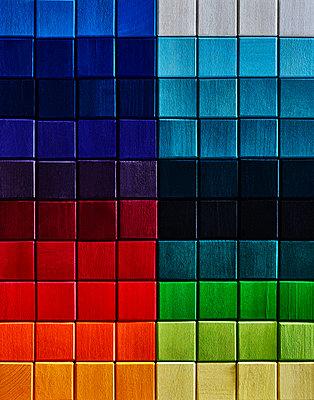 Coloured blocks - p1397m2054842 by David Prince
