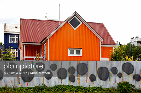 House in Reykjavik - p382m1497017 by Anna Matzen