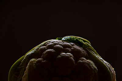 Abstract cauliflower - p1655m2273330 by lindsay basson