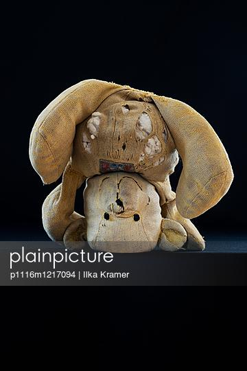 Alter Teddybär - p1116m1217094 von Ilka Kramer