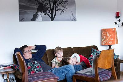 Familienportrait - p1308m1332344 von felice douglas