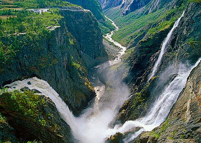 Voringfossen Waterfall - p816m913854 by Bård Løken