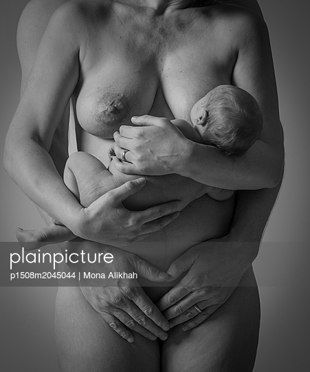Mother love - p1508m2045044 by Mona Alikhah