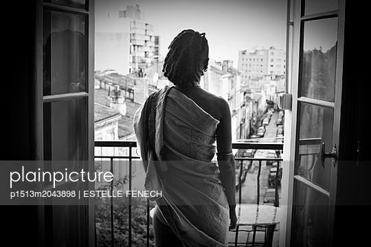 Rasta at the window - p1513m2043898 by ESTELLE FENECH