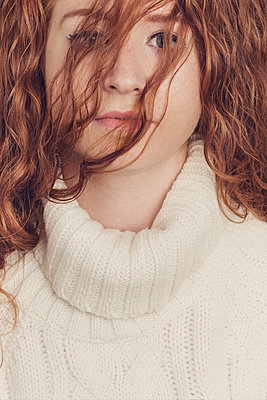 Redhead - p1323m1511767 von Sarah Toure