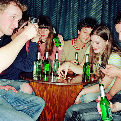 Binge drinking - p92410654f by Image Source