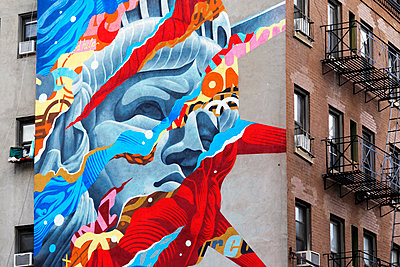 Street Art NYC - p1280m1161932 by Dave Wall