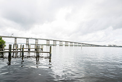 Florida Causeway - p535m1146729 by Michelle Gibson