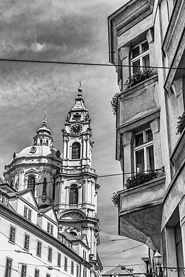 Sankt Nikolaus Kirche Prag - p401m1590166 von Frank Baquet