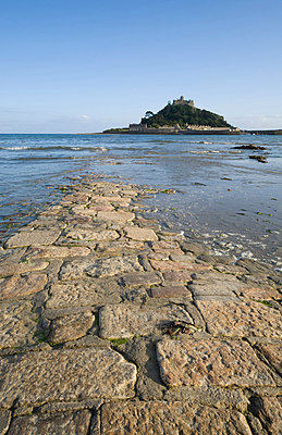 St michaels mount in cornwall - p9244171f by Image Source