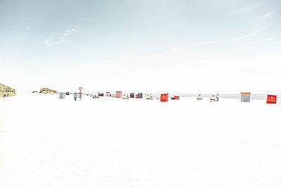 Strandkörbe am Borkumer Südstrand - p1162m1475411 von Ralf Wilken