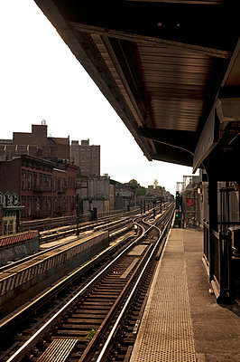 U-Bahnstation in Brooklyn - p470m1165110 von Ingrid Michel