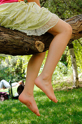 Auf dem Baum sitzen - p6810002 von Sandrine Léon