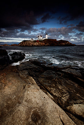 Cape Neddick 'Nubble' Light - p3300435 von Harald Braun