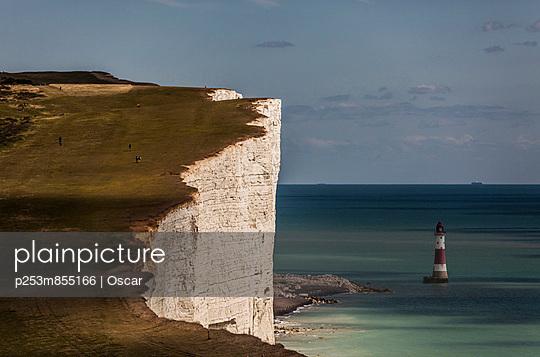 Belle Tout lighthouse;  Brighton - p253m855166 by Oscar