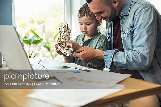 deutschland,mannheim,lifestyle,people,family,zuhause - p300m2286946 von Uwe Umstätter