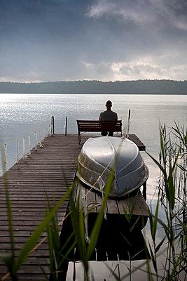 Bathing lake - p817m1048431 by Daniel K Schweitzer