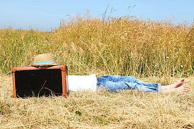 Taking a break - p045m851471 by Jasmin Sander