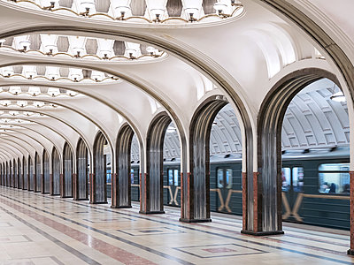 Metrostation Majakowskaja - p390m2053551 von Frank Herfort