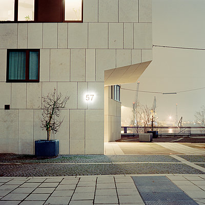 Hamburg bei Nacht - p1214m1008152 von Janusz Beck
