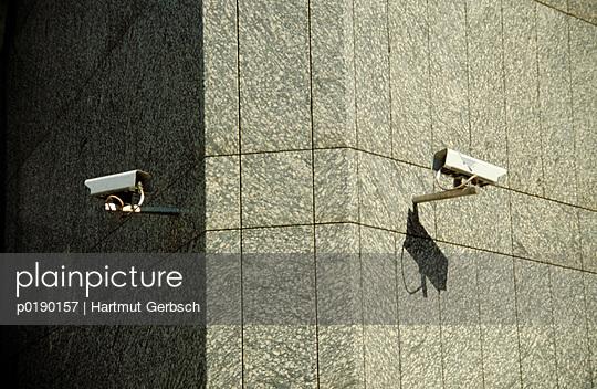 Überwachungskameras - p0190157 von Hartmut Gerbsch