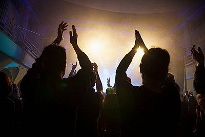 Crowd at concert - p300m1355900 by Nabiha Dahhan