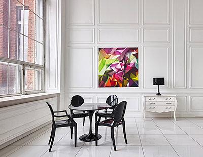 Loft mit minimalistischem Interieur - p390m1477097 von Frank Herfort