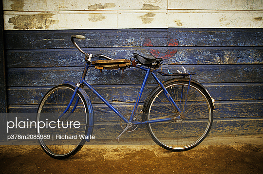 Bicycle,Samoa - p378m2085989 by Richard Waite