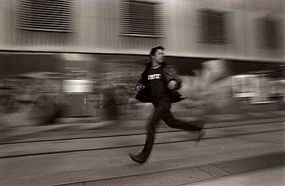 Auf der Flucht - p0810022 von Alexander Keller