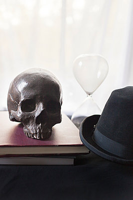 Still life with Skull - p956m892190 by Anna Quinn