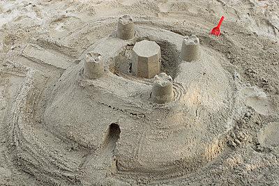 Sand castle - p5500071 by Thomas Franz
