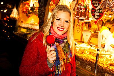 Weihnachstmarkt - p904m749013 von Stefanie Päffgen