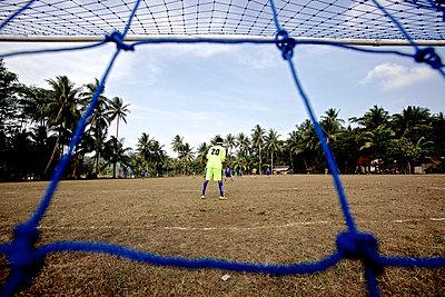 Fußballspiel, Jakarta, Java, Indonesien - p1316m1160810 von Christoph Jorda