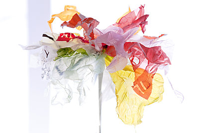 Plastic Flower - p1371m1225733 by virginie perocheau