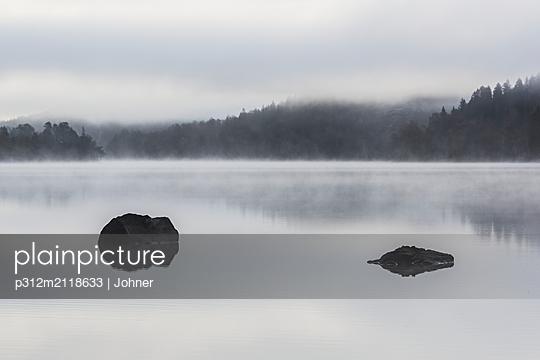Morning at lake - p312m2118633 by Johner