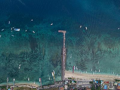 Aerial view, Nusa Penida - p1108m2090361 by trubavin
