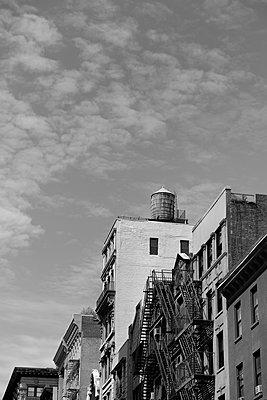 New York, Altes Gebäude - p1338m2150947 von Birgit Kaulfuss